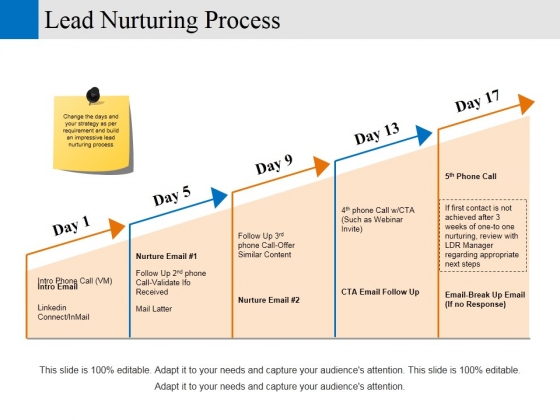 Lead Nurturing Process Ppt PowerPoint Presentation Pictures Infographics