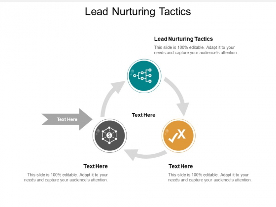 Lead Nurturing Tactics Ppt PowerPoint Presentation Gallery Structure Cpb