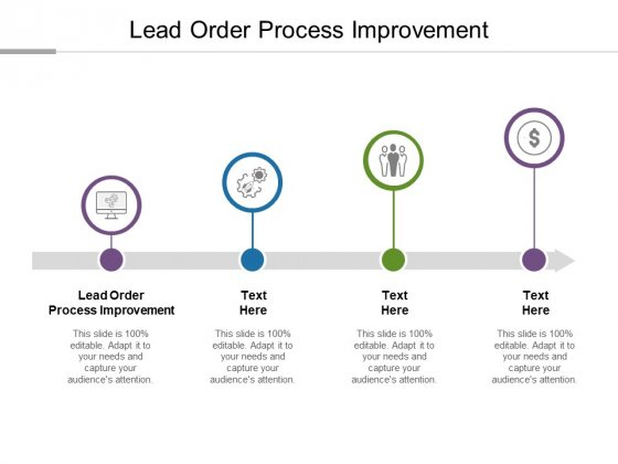Lead Order Process Improvement Ppt PowerPoint Presentation Summary Display Cpb