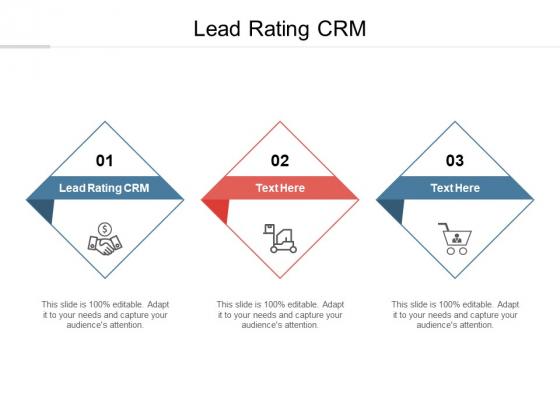 Lead Rating CRM Ppt PowerPoint Presentation Model Portrait Cpb