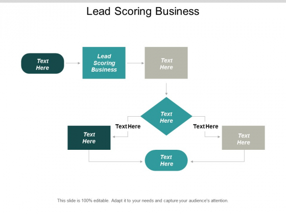 Lead Scoring Business Ppt PowerPoint Presentation Gallery Pictures Cpb