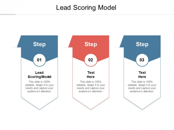 Lead Scoring Model Ppt PowerPoint Presentation Inspiration Maker Cpb