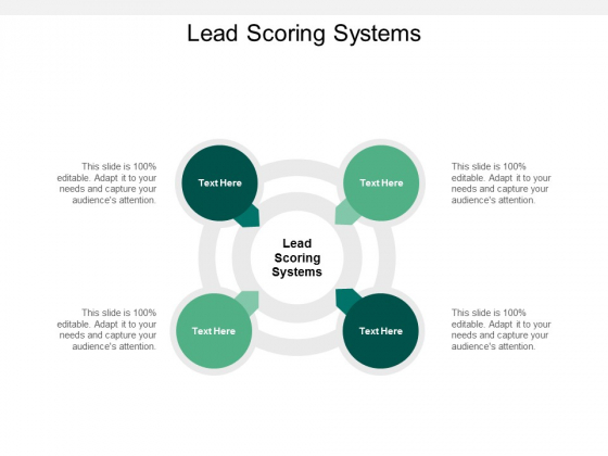 Lead Scoring Systems Ppt PowerPoint Presentation Model Vector Cpb
