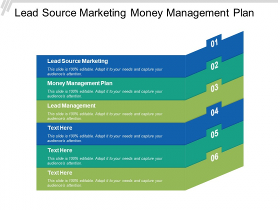 Lead Source Marketing Money Management Plan Lead Management Ppt PowerPoint Presentation File Gridlines