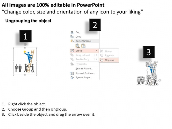 Leader_With_Team_And_Unique_Idea_Powerpoint_Template_2