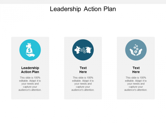 Leadership Action Plan Ppt PowerPoint Presentation Pictures Design Ideas Cpb