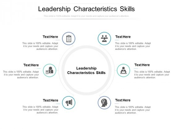 Leadership Characteristics Skills Ppt PowerPoint Presentation Professional Files Cpb