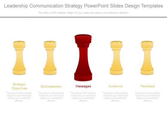 Leadership Communication Strategy Powerpoint Slides Design Templates