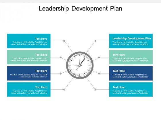 Leadership Development Plan Ppt PowerPoint Presentation Portfolio Images Cpb
