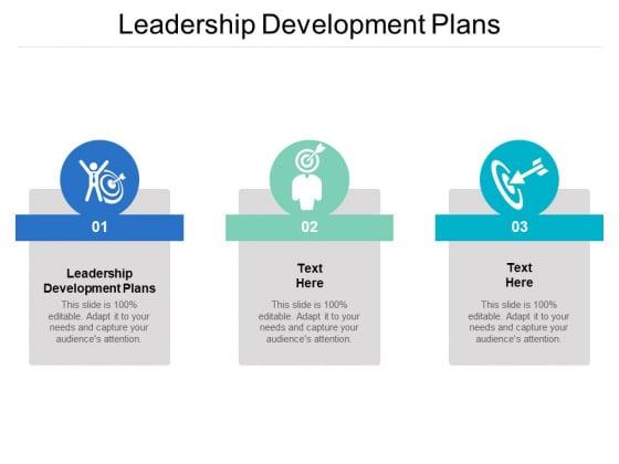 Leadership Development Plans Ppt PowerPoint Presentation Portfolio Examples Cpb