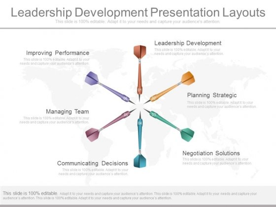 Leadership Development Presentation Layouts