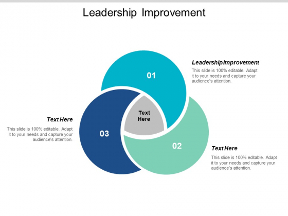 Leadership Improvement Ppt PowerPoint Presentation Inspiration Clipart Images Cpb