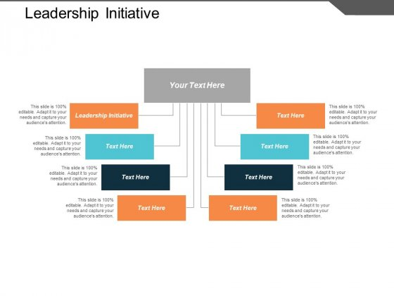 Leadership Initiative Ppt PowerPoint Presentation Model Graphics Design Cpb