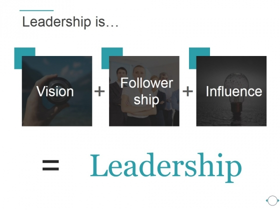 Leadership Is Ppt PowerPoint Presentation Ideas