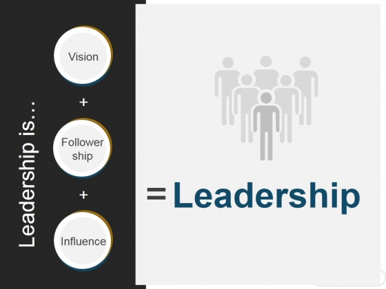 Leadership Is Ppt PowerPoint Presentation Styles