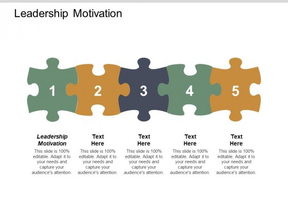 Leadership Motivation Ppt PowerPoint Presentation Infographic Template Slideshow Cpb