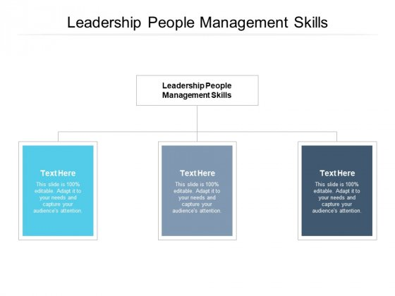 Leadership People Management Skills Ppt PowerPoint Presentation Diagram Templates Cpb Pdf