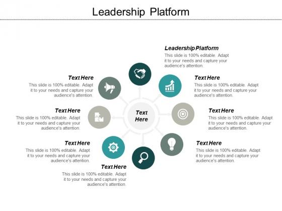 Leadership Platform Ppt PowerPoint Presentation Infographic Template Slides
