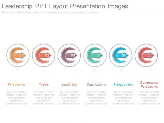 Leadership Ppt Layout Presentation Images