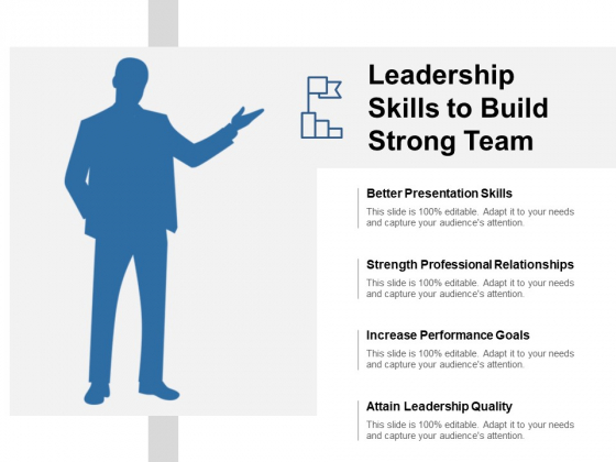 Leadership Skills To Build Strong Team Ppt PowerPoint Presentation Inspiration Format Ideas
