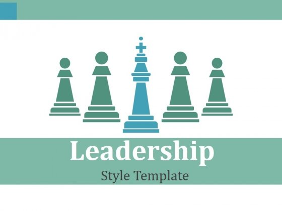 Leadership Style Template Ppt PowerPoint Presentation Ideas Portfolio