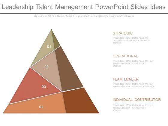 Leadership Talent Management Powerpoint Slides Ideas