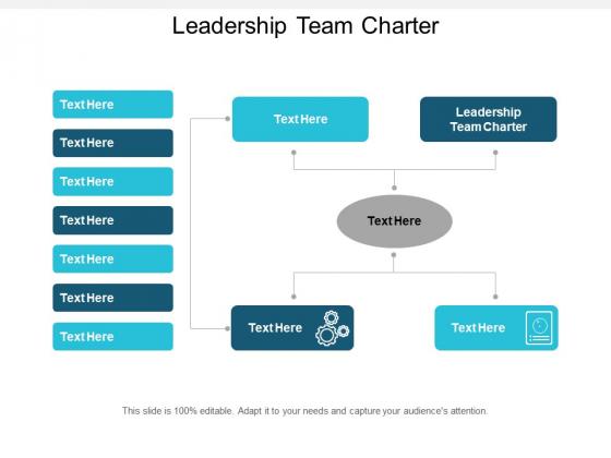 Leadership Team Charter Ppt PowerPoint Presentation Slides Format Ideas Cpb