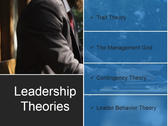 Leadership Theories Ppt PowerPoint Presentation Background Images