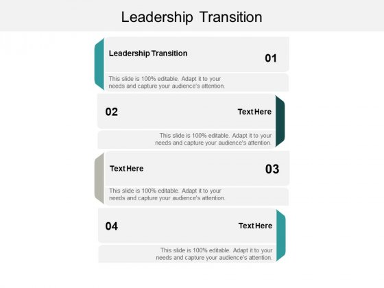 Leadership Transition Ppt PowerPoint Presentation Model Templates Cpb