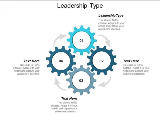 Leadership Type Ppt PowerPoint Presentation Slides Graphics Template Cpb