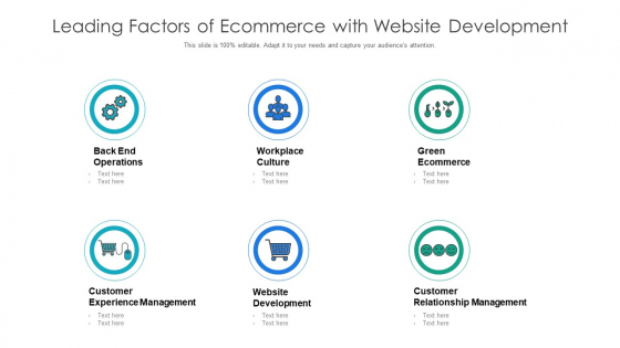 Leading Factors Of Ecommerce With Website Development Ppt File Microsoft PDF