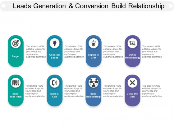 Leads Generation And Conversion Build Relationship Ppt PowerPoint Presentation Gallery Guidelines
