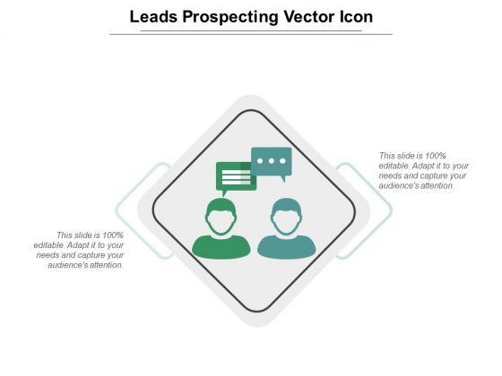 Leads Prospecting Vector Icon Ppt PowerPoint Presentation Infographic Template Introduction