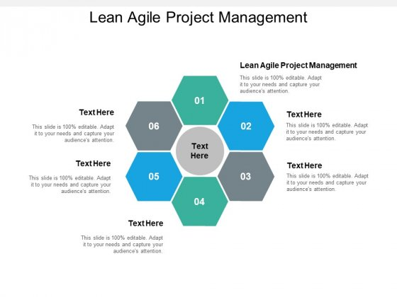 Lean Agile Project Management Ppt PowerPoint Presentation Layouts Show Cpb