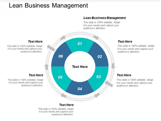 Lean Business Management Ppt PowerPoint Presentation Professional Themes Cpb
