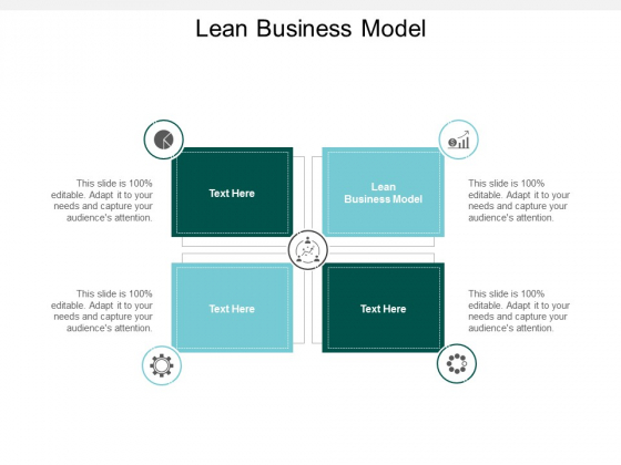 lean business model ppt powerpoint presentation model slide portrait cpb