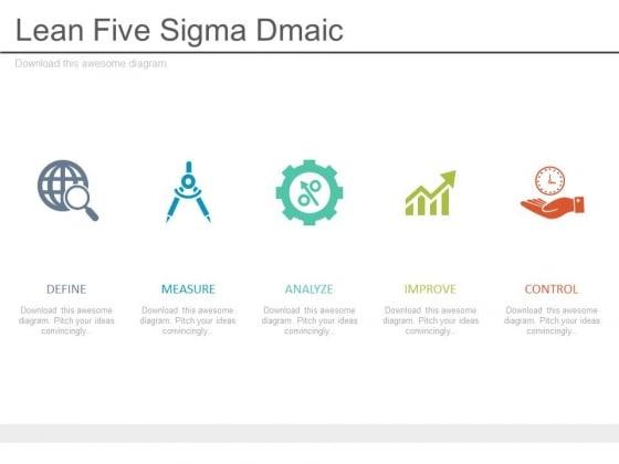 Lean Five Sigma Dmaic Ppt Slides