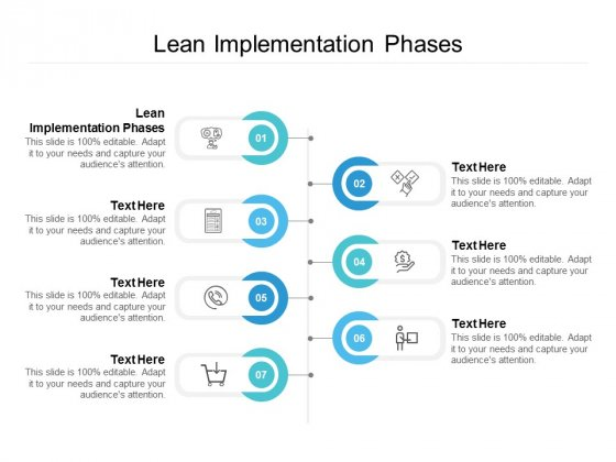 Lean Implementation Phases Ppt PowerPoint Presentation Tips Cpb