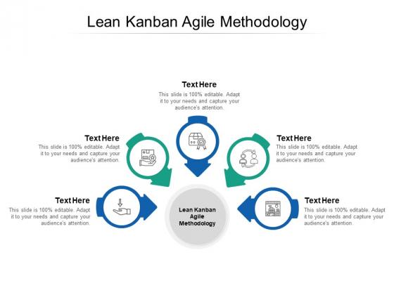 Lean Kanban Agile Methodology Ppt PowerPoint Presentation Portfolio Influencers Cpb