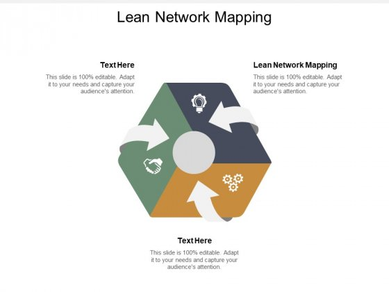 Lean Network Mapping Ppt PowerPoint Presentation Show Files Cpb