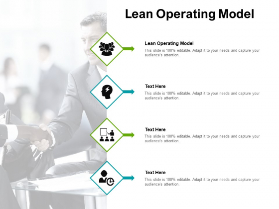Lean Operating Model Ppt PowerPoint Presentation Inspiration Show Cpb Pdf