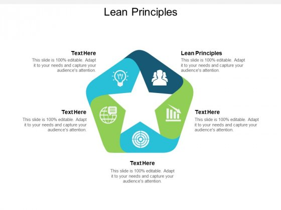 Lean Principles Ppt PowerPoint Presentation Model Layout Ideas Cpb