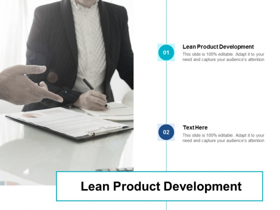 Lean Product Development Ppt PowerPoint Presentation Layouts Rules Cpb