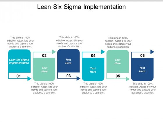 Lean Six Sigma Implementation Ppt PowerPoint Presentation Show Layout Cpb