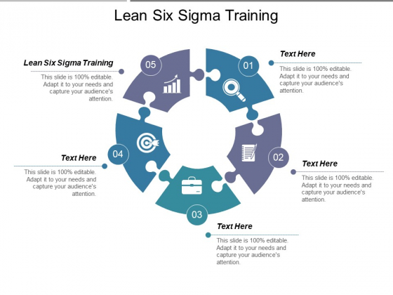 Lean Six Sigma Training Ppt PowerPoint Presentation Portfolio Layouts