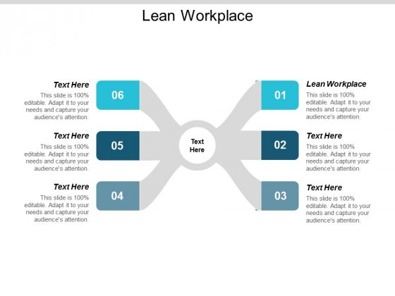 Lean Workplace Ppt Powerpoint Presentation File Design Inspiration Cpb