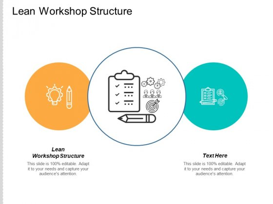Lean Workshop Structure Ppt PowerPoint Presentation Inspiration Aids Cpb