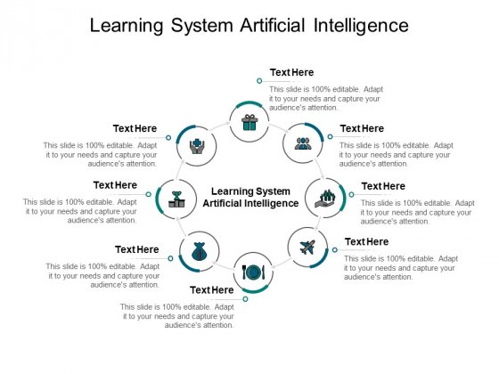 Learning System Artificial Intelligence Ppt PowerPoint Presentation Summary Show Cpb Pdf