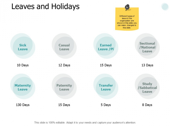 Leaves And Holidays Business Ppt PowerPoint Presentation Slides Templates