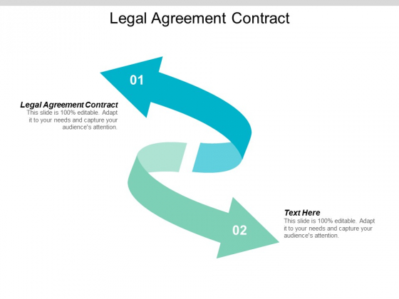Legal Agreement Contract Ppt PowerPoint Presentation Show Visuals Cpb